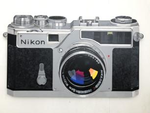 """Nikon SP"" Acrylic on Wood Panel 42.9 x 24.8 inches"